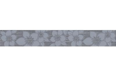 Cersanit Calvano Grey Border dekorcsík 5x35 cm