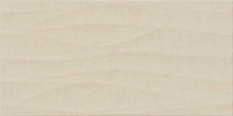 Cersanit shiny textile ps810 beige satin structure falicsempe 29,8x59,8 cm