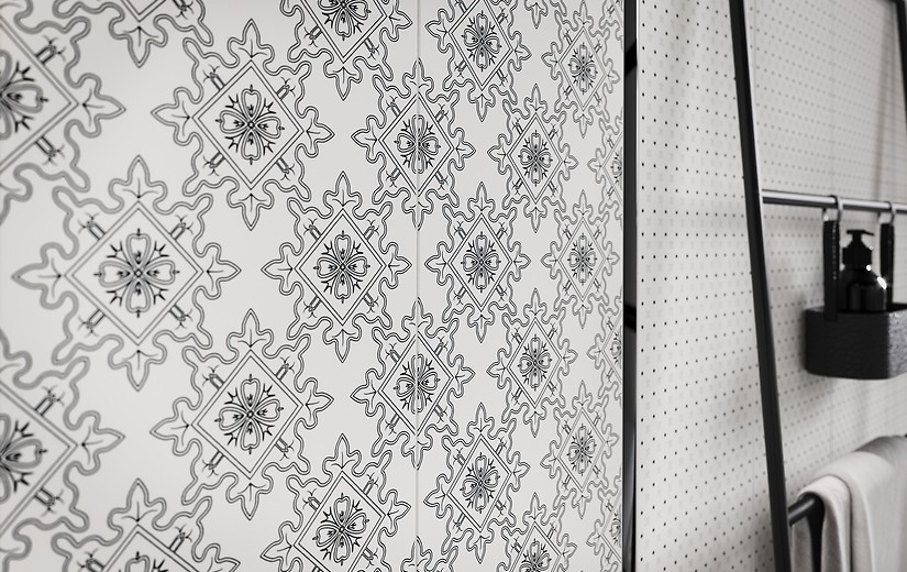 Cersanit black and white 03