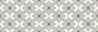 Cersanit black and white pattern E 20x60 cm falicsempe