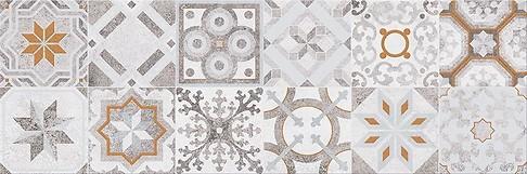 Concrete style inserto patchwork 20x60 cm dekorcsempe