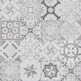 Concrete style inserto patchwork 42x42 cm padlólap