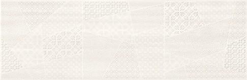 Cersanit ferano white patchwork inserto satin dekorcsempe 24x74 cm