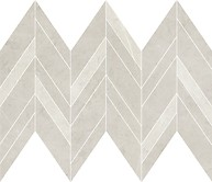 Manzila grys chevron mix mosaic matt 25,5x29,8 cm mozaik