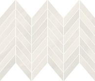 Markuria white chevron mosaic matt 29,8x25,5 cm mozaik