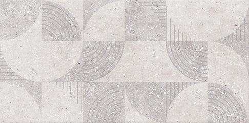 Cersanit Narin geofun grys inserto matt 29,7x60 cm dekorcsempe