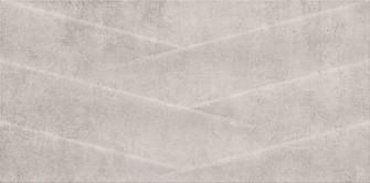 Cersanit Herra grey structure matt falicsempe 29,7x60 cm